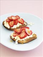 Strawberry and Ricotta Bruschetta