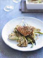 Baked Turkey with Fennel and Pinenuts