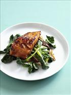 Miso Salmon with Asian vegetables