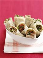 Beef & Sesame Tabouleh Wraps