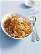 Sesame, Bean and Carrot Salad